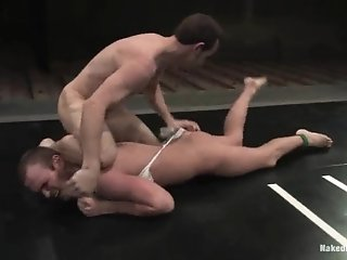 Gay With Small Cock Gets Beaten And Fucked By His Bf On A Ring