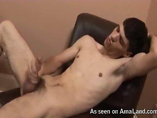 Filming My Hot Boyfriend Jacking Off