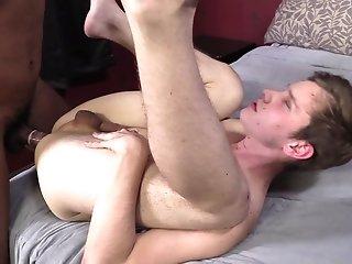Alexander James And Kaiden Moss Make Interracial Gay Love Indoors