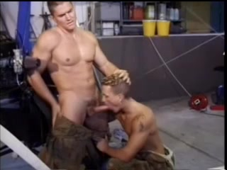 A Homo Shows His Gaping Asshole And Gets It Pounded Hard