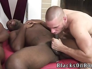 Park Wiley Sucks Two Black Shafts And Gets His Gay Ass Smashed